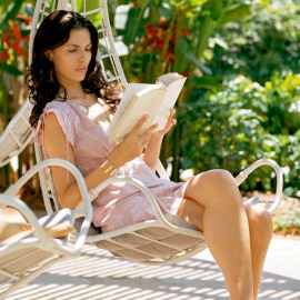 Unwind with a great book.