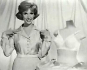 """39a5ee89e In the 1960 s Playtex launched their TV ad for the """"Cross-Your-Heart Bra"""""""