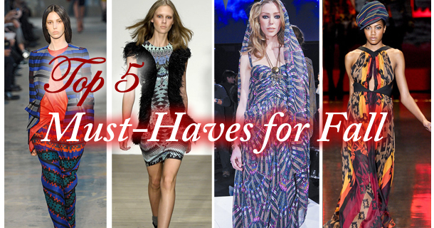 Top 5 Must-Haves for Fall