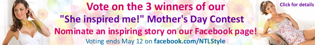 Now That's Lingerie Mother's Day Contest on Facebook
