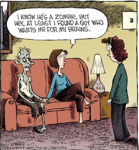 Funny Zombie Comic