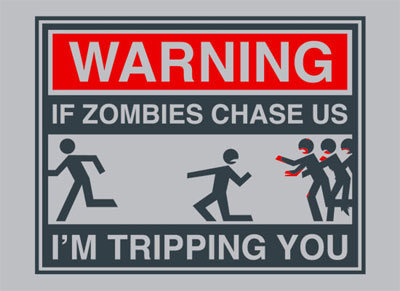 In case of a zombie attack
