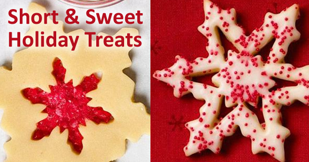 Short & Sweet Holiday Treats Cookie Ideas from Now That's Lingerie