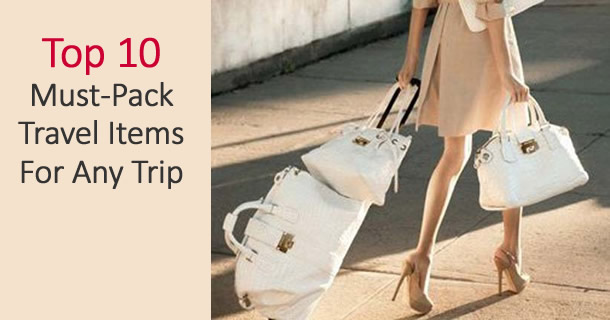 What to Pack for your trip by Now That's Lingerie