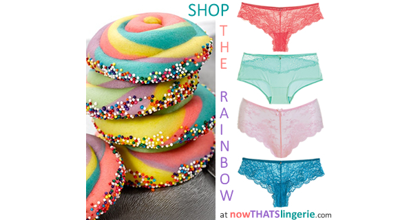 Shop the Rainbow at Now That's Lingerie
