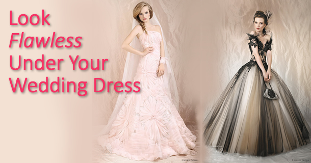 How To Look Flawless Under Your Wedding Dress | Bra Doctor's Blog