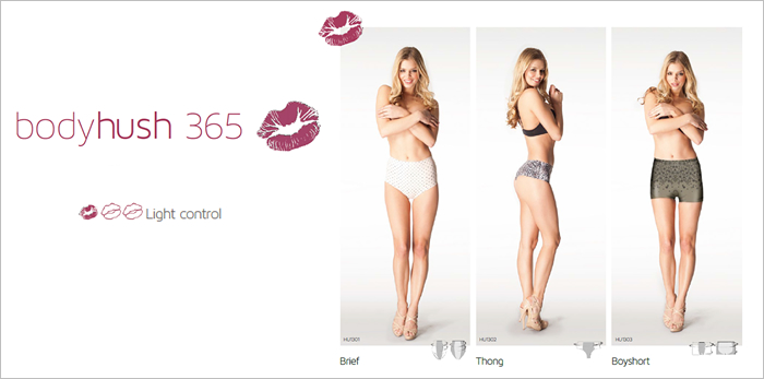Shop Body Hush 365 shapewear exclusively at Now That's Lingerie