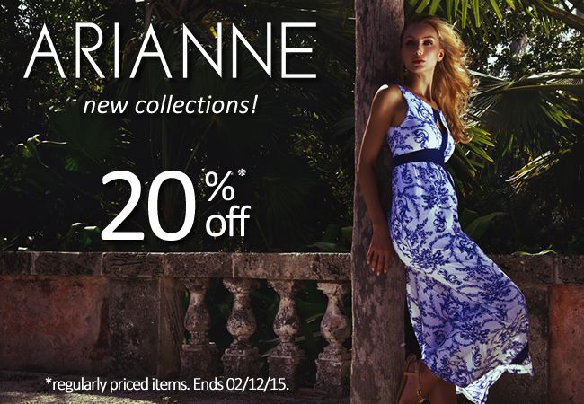 Arianne at 20% off on Now That's Lingerie