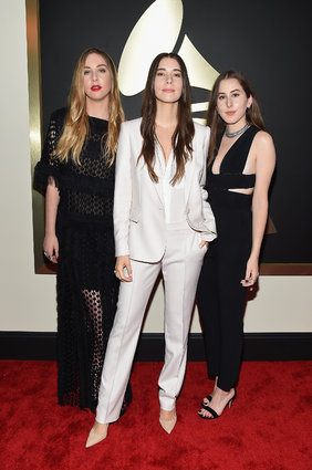 Haim. Image by Larry Busacca for Getty Images via Huffington Post.