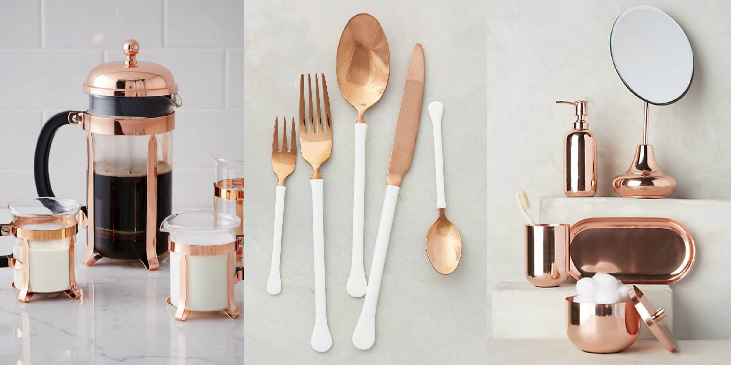 Because A Copper Decor Item Can Make Such A Statement, It May Seem  Difficult To Make It Flow Naturally With The Rest Of Your Home. Consider  The New Rule For ...