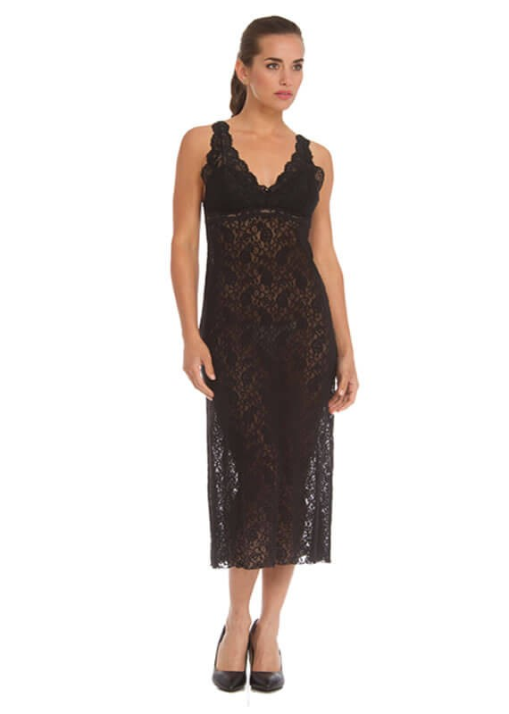 8640-natasha-padded-chemise-48-inches-black-arianne-lingerie-nowthatslingerie