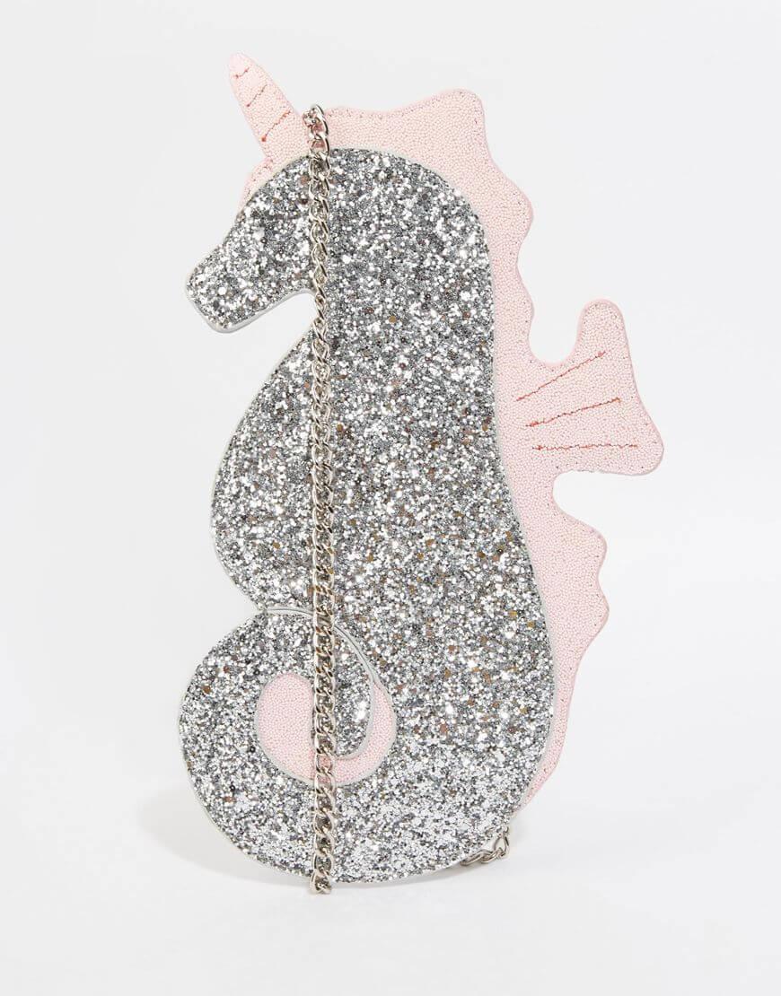 Seahorse Unicorn handbag via ASOS