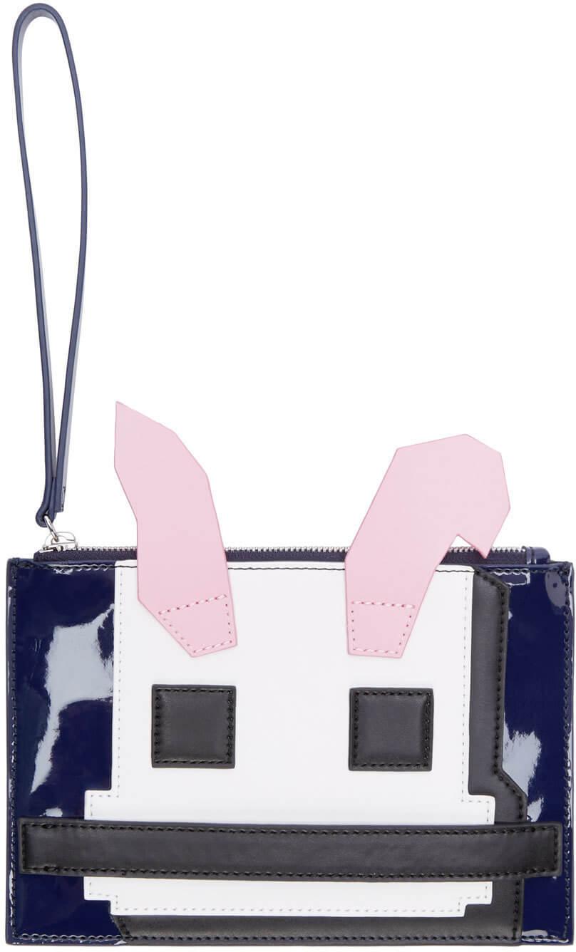 Alexander McQueen handbag via Ssense