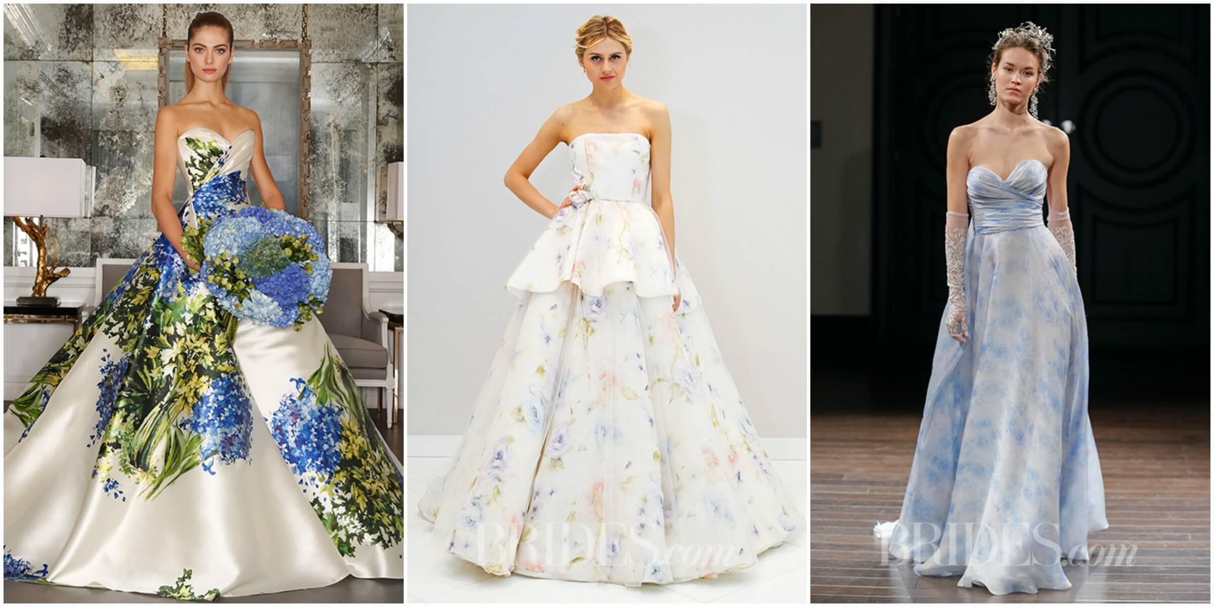 Romona Keveza Fall 2016 via Brides.com; Randi Rahm Spring 2016 via Brides.com; Naaem Khan Spring 2016 via Brides.com