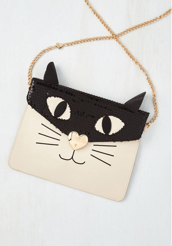 Cat handbag via ModCloth