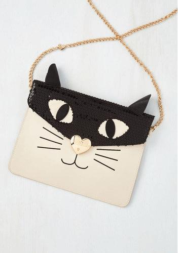 Cat handbag via ModCloth