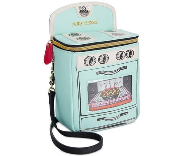 Betsey Johnson Oven handbag via Macy's