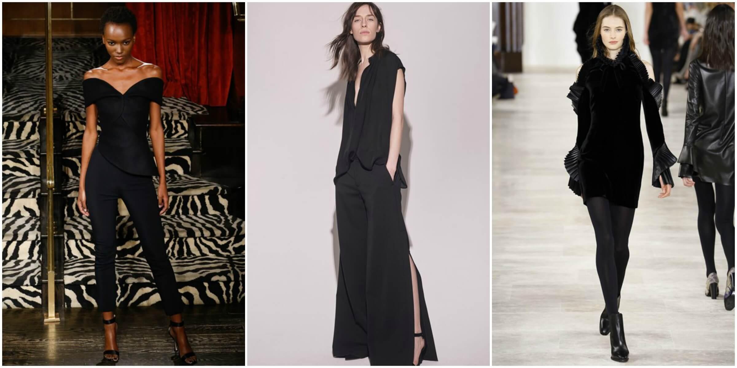 Brandon Maxwell FW16 via Vogue; Nili Lotain FW16 via Vogue; Ralph Lauren FW16 via Vogue