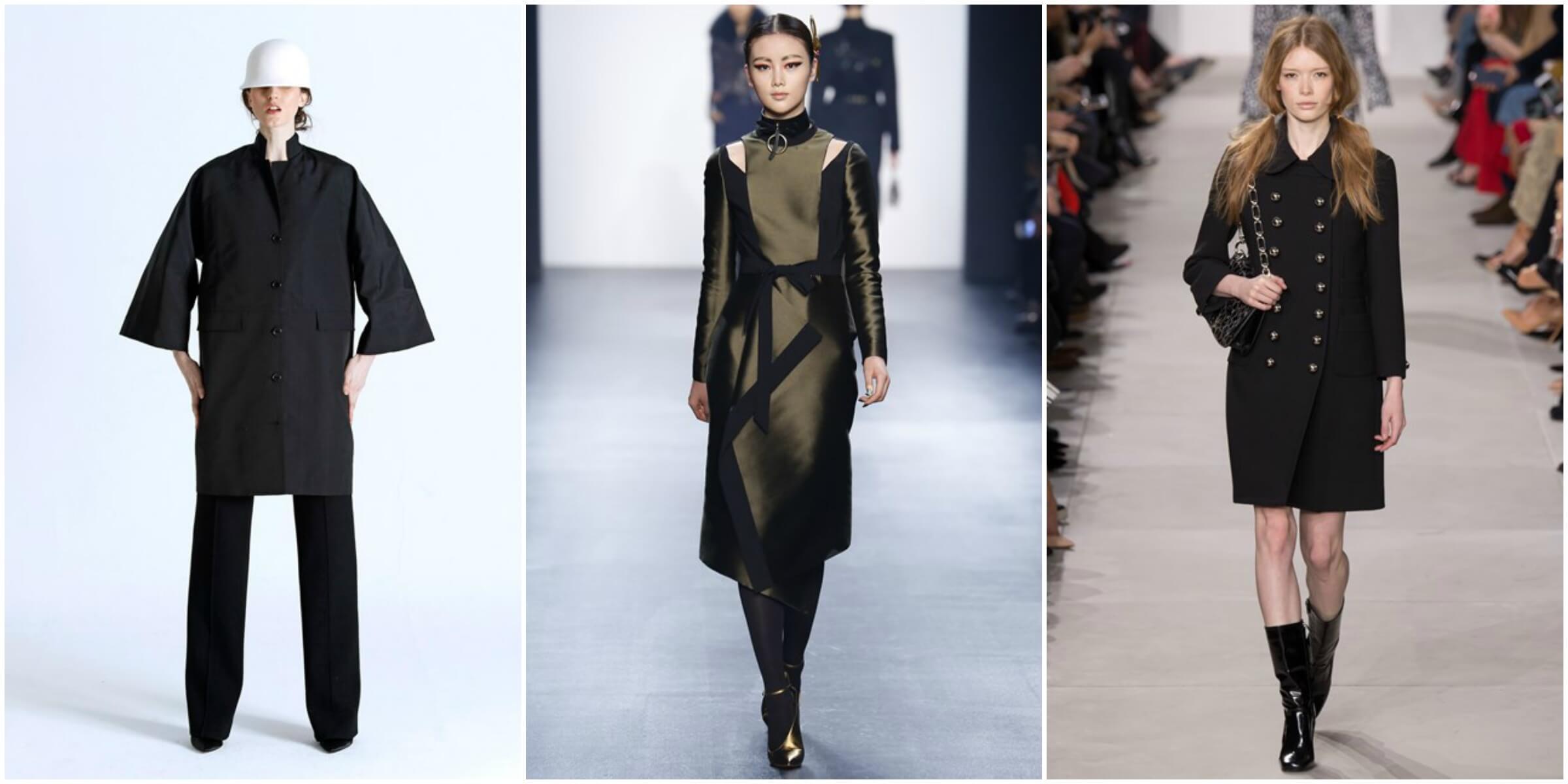RR331 FW16 via Vogue; Bibhu Mohapatra FW16 via Vogue; Michael Kors FW16 via Vogue