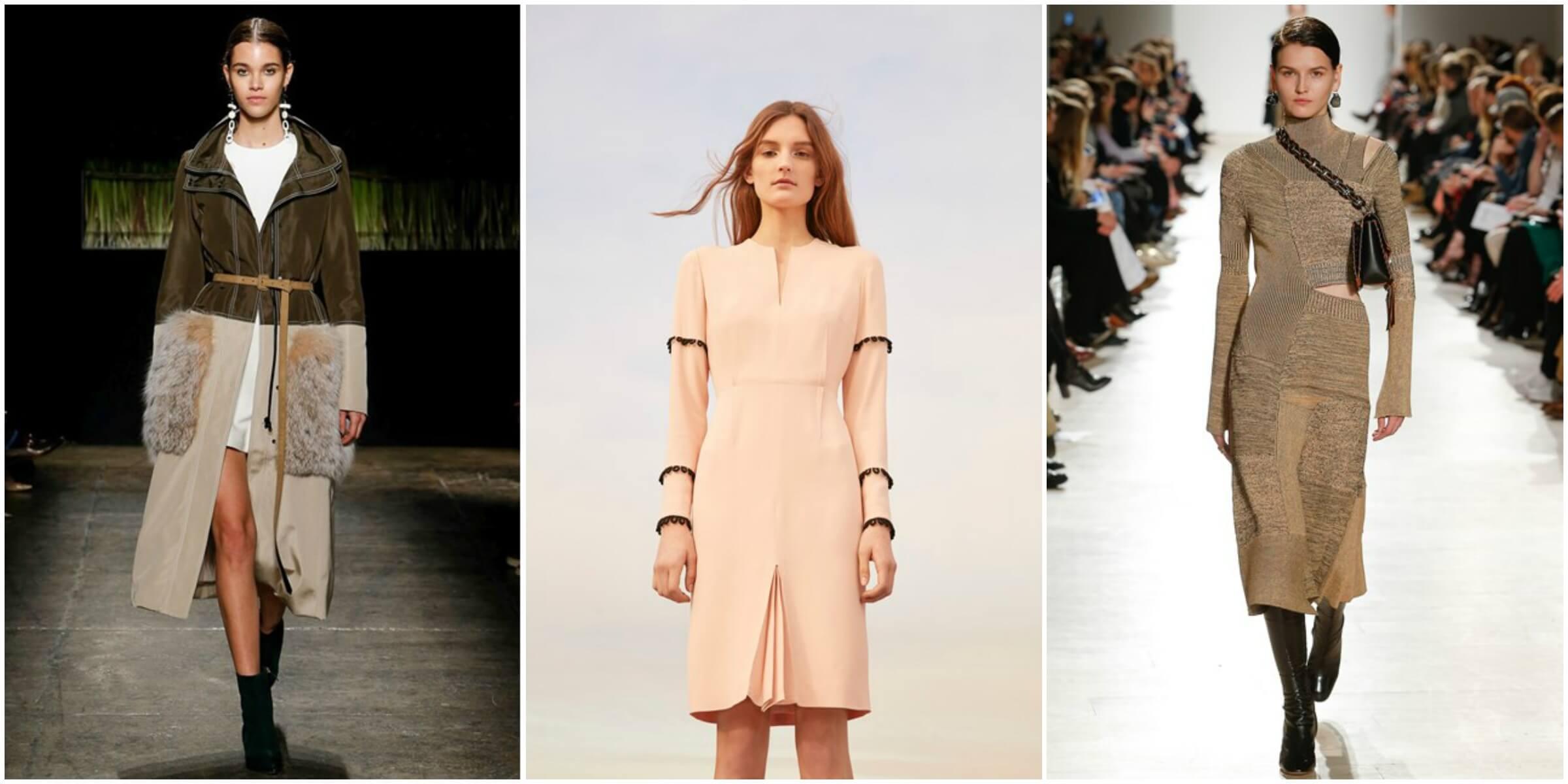 J Mendel FW16 via Vogue; Nellie Partow FW16 via Vogue; Proenza Schouler FW16 via Vogue