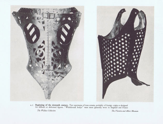 A very old, almost intimidating corset. Image via Design Catwalk