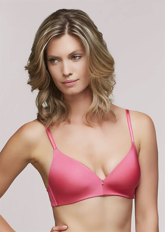 Wire Free Seamless Bra With Multi-Position Straps by Montelle Intimates