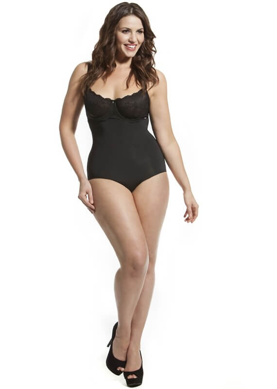 High Waisted Shaping Brief by Hooked Up Shapewear