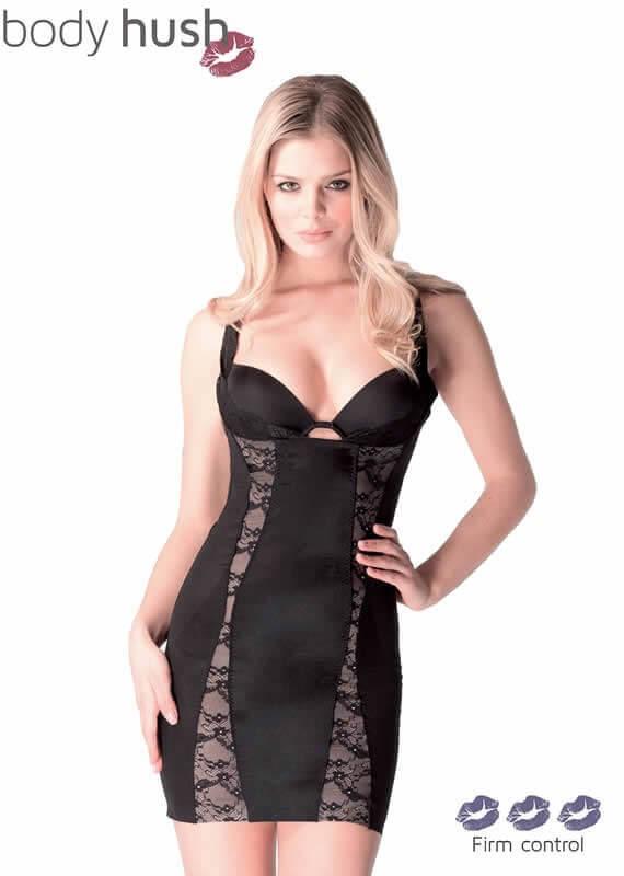 Glamour Lace Slenderizing Shaping Slip by Body Hush