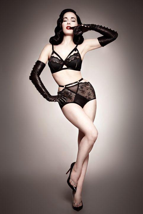 Dita Von Teese via Nino Fashion