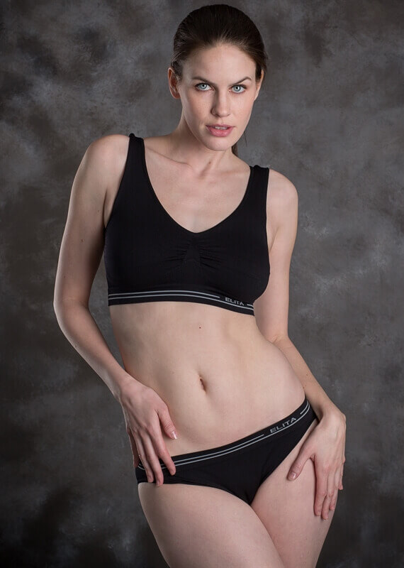 Signature Seamless Moulded Crop Top by Elita Lingerie
