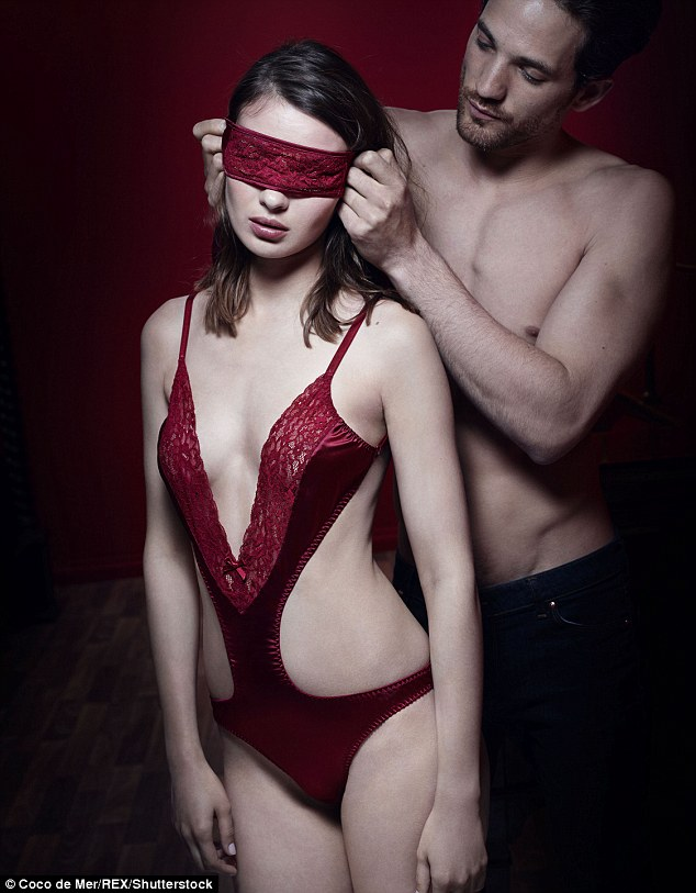 A piece from the Fifty Shades of Grey collection by Coco de Mer via Daily Mail