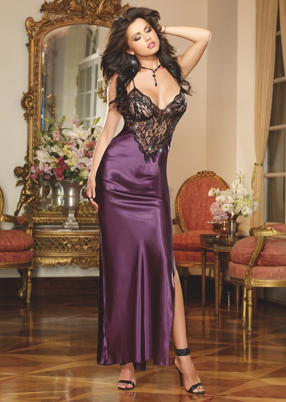 8461-to-have-and-to-hold-satin-lace-long-chemise-dreamgirl-nowthatslingerie-plum-front-1