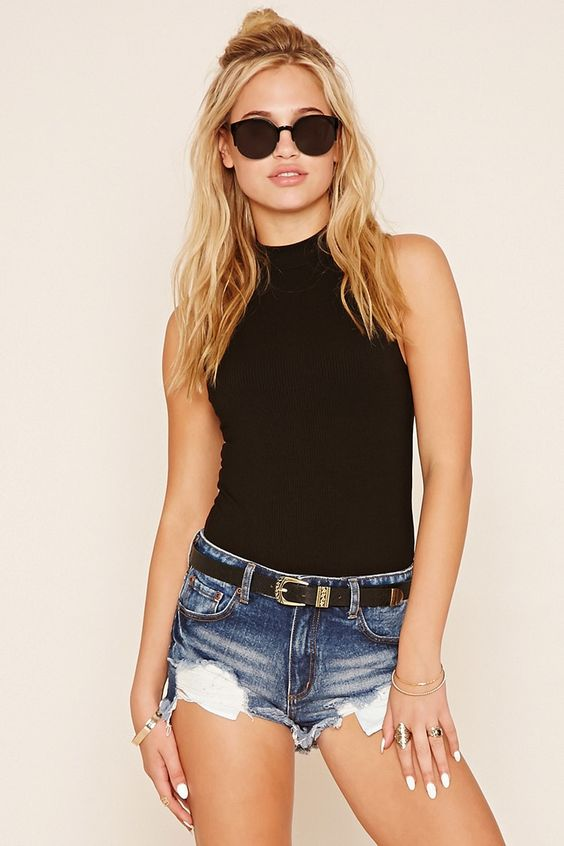 Bodysuit Inspired Outfit via Forever 21, found on Pinterest