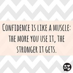 A quote about confidence via Pinterest.