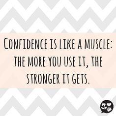 A quote about confidence via Pinterest.