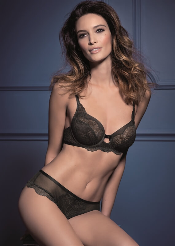 Iconic Essence Underwire Bra and Hipster by Triumph Lingerie