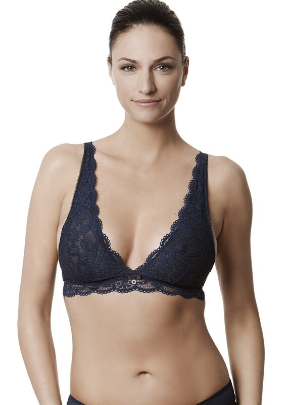 Keyhole Fantasy Lace Bralette by Montelle Intimates