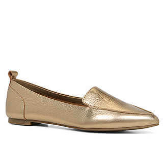 A metallic shade can be considered neutral, so these will go with everything! ALDO Basovica Loafer.
