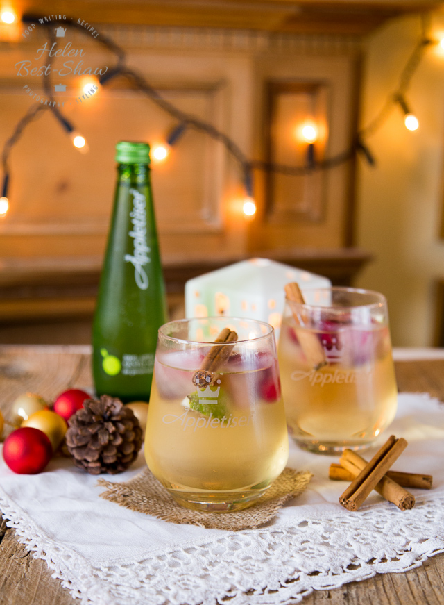 Here's a holiday drink we want all year round! via Fuss Free Flavours