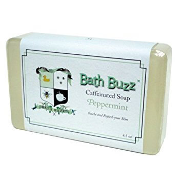 Caffeine and peppermint marry for this energy-boosting soap! Available on Amazon.