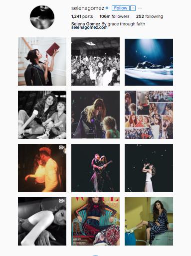 Selena Gomez is the queen of Instagram!